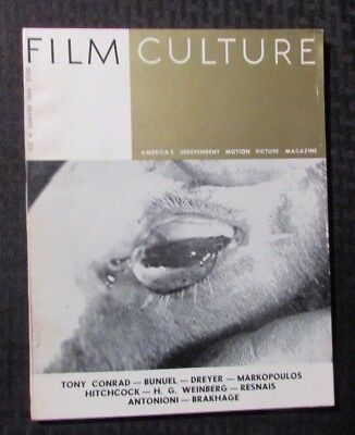 1966 Summer FILM CULTURE Magazine #41 FN+ 6.5 Alfred Hitchcock