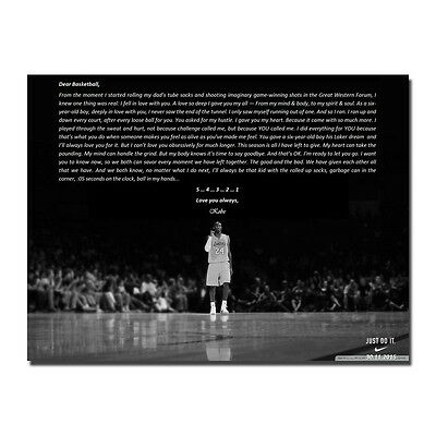 Kobe Bryant Basketball Star Art Silk Fabric Poster 13x18 24x32 inch J704