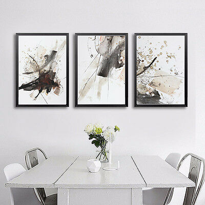Nordic Realistic Abstract Art Canvas Poster Painting Modern Home Wall Decor