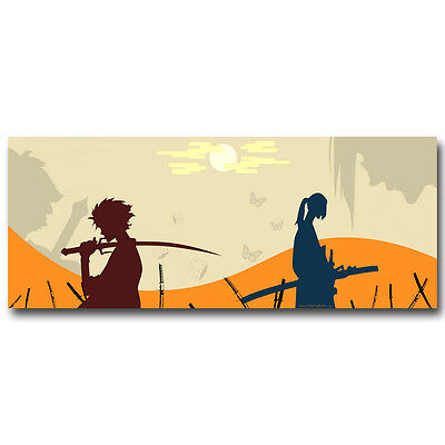 H387 Art Samurai Champloo Anime Print Canvas Fabric Poster