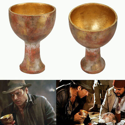 Indiana Jones Holy Cosplay Grail Raiders of the Lost Ark Costume Props Xcoser