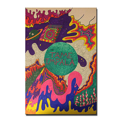 Tame Impala Poster Print  Music Band Art Silk Poster 13x20 24x36 inch J935