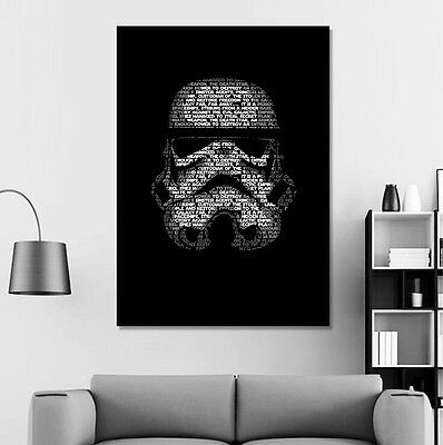 Star Wars Canvas Poster Movie Art Print Modern Home Wall Decor