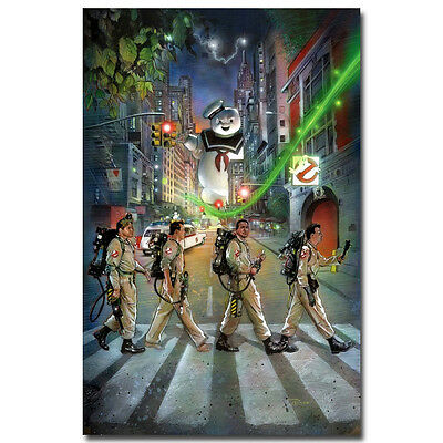 Ghostbusters Classic Movie Silk Fabric Poster 13x20 inch