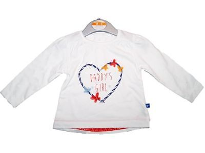 SALE Baby Girl's Ex Store Top Daddy's Girl 0/3, 3/6, 6/9,And 9/12 Months