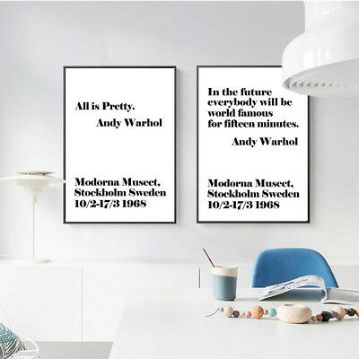 Motivational Life Quote Canvas Poster Print Wall Picture Painting Art Decor