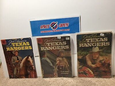 Jace Pearson's Tales Of The Texas Rangers 16 20 1021 Dell Comics  Comic Book