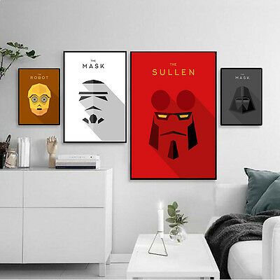 Star Wars Characters Anime Canvas Poster Nordic Art Painting Modern Home Decor