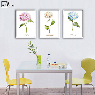 Plants Flower Canvas Poster Minimalism Art Painting Modern Home Wall Decoration