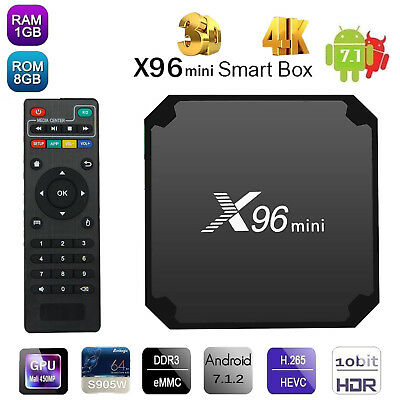 X96 Mini Android 7.1 TV BOX Vavoo | Kodi | IPTV TV | 4K | 7.2.1 Quad Core 8GB DE