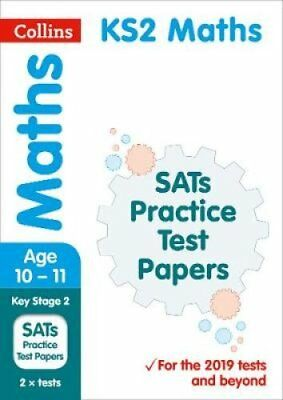 KS2 Maths SATs Practice Test Papers 2019 Tests by Collins KS2 9780008300562