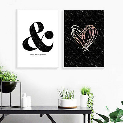 Marble Abstract Wall Art Canvas Fashion Poster Nordic Prints Scandinavian Style