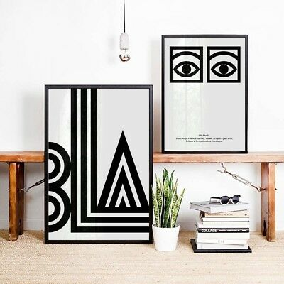 Abstract Geometry Face Canvas Poster Nordic Art Print Wall Decor