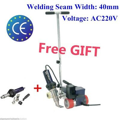 Weldy PVC Roofer Automatic Roofing Hot Air Welder 220V 40mm Nozzle with FREE Gun