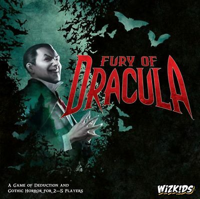 Fury of Dracula 4th Edition Board Game by Wizkids