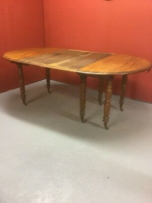 Antique Victorian Mahogany Extending Dining Table SN–438