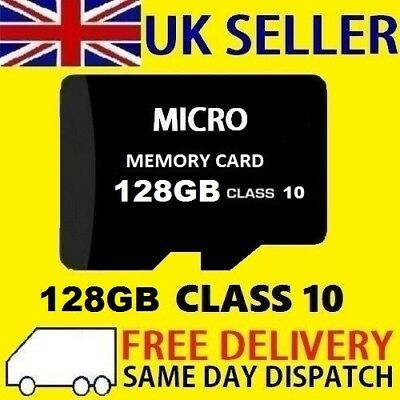 New 128GB Micro SD Card Flash Memory TF SDXC 128G UK - CLASS 10 - UK SELLER