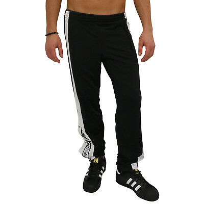 new concept 0c597 7ae97 adidas Originals Adibreak Trainingshose Jogginghose Lang Herren Schwarz  DV1593