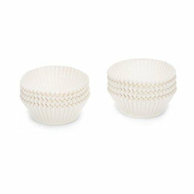 Patisse 2047878, Stampini in carta per cupcake, 150 pz., Bianco (BS0)