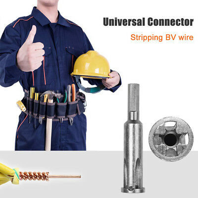 5-hole Electrician Universal Automatic Twisting Wire Stripping And Doubling teG6