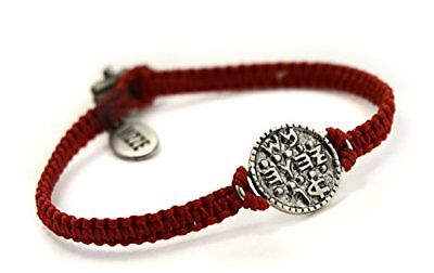 Mizze Made For Luck Jewelry Solomon Seal Wishes amuleto mano tessuto rosso (GQH)