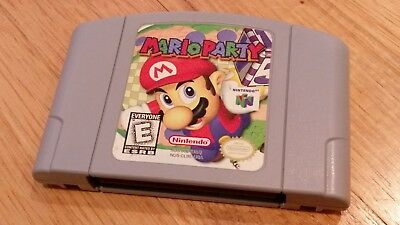 MARIO PARTY 1 I Nintendo 64 N64 Video Game Cartridge lot CLEAN TESTED  AUTHENTIC!