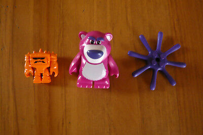 Lego Toy Story Lotso + Chunk + Octopus Legs (From 7789) Lot Disney Figurine New