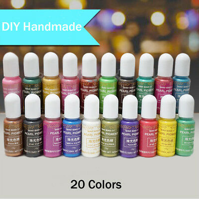 15g/Bottle Pigment Epoxy UV Resin DIY Handmade Art Crafts Coloring Dye Colorant