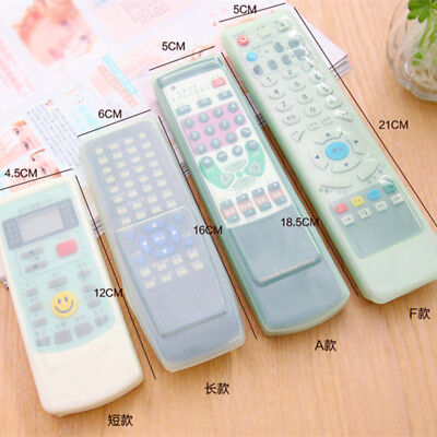 Anti-dust Protective Cover TV Remote Control Air Condition Silicon Gel Case ARZ
