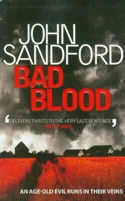 Bad Blood by Sandford, John Book The Cheap Fast Free Post