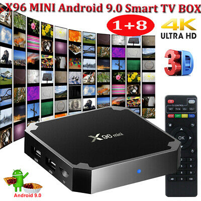 MXQ PRO Smart TV Box WIFI H3 Quad Core Android 8.1 1+8GB 4K 3D Affordable Media