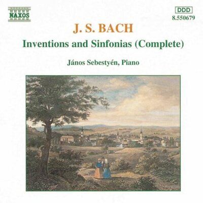 J. S. Bach: Inventions and Sinfonias (Complete) -  CD 5YVG The Fast Free