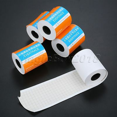 5 Rolls Thermal Printing Paper for ECG/EKG Machine Patient Monitor 50mm*20m