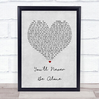 NEVER BE THE Same Song Lyric Quote Print - £4 95 | PicClick UK