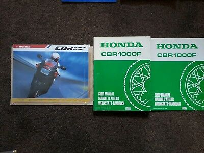 Honda Cbr1000F Jelly Mould 1988 On Manuals Owners And Workshop Earlier Version