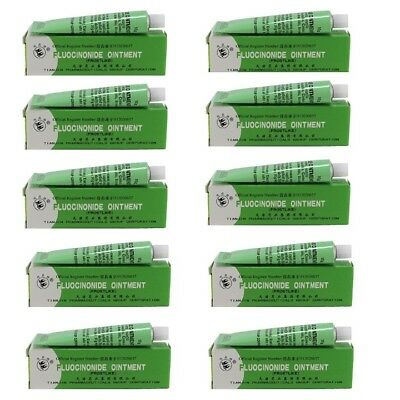 10 x 10 g Fluocinonide Ointment Skin-Cream for treatment of Dermatitis / Eczema
