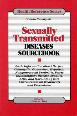 Sexually Transmitted Diseases Sourcebook (Health Reference) Hardback Book The