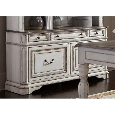 Magnolia Manor Antique White Credenza