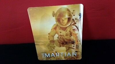 THE MARTIAN - 3D Lenticular Magnet / Magnetic Cover for BLURAY STEELBOOK