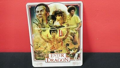 ENTER THE DRAGON - 3D Lenticular Magnetic Cover Magnet for BLURAY STEELBOOK