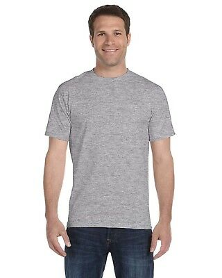 Gildan Dry Blend T-Shirt Blank Solid Mens Short Sleeve 50/50 Wicking Plain 8000