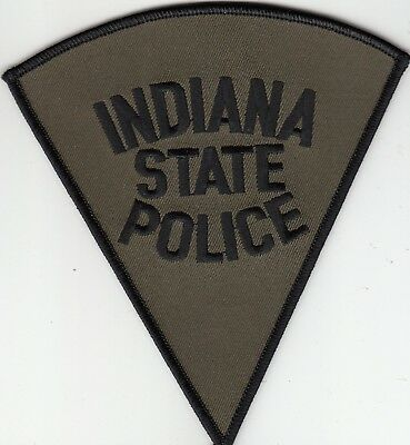 Indiana State Police Subdued Swat Shoulder Patch In
