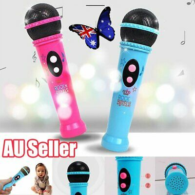 Karaoke Music Microphone Built In Speaker Player Children For Kids Toy Gifts JO