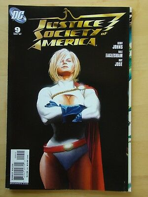 Justice Society Of America (2007) # 9 (Nm) Johns, Earth-2, Jsa, Kingdom Come