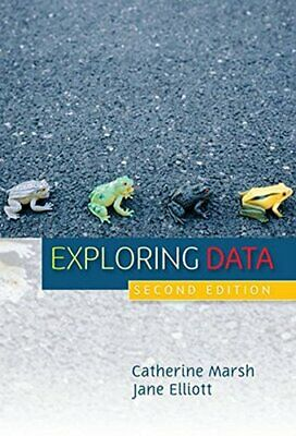Exploring Data: An Introduction to Data Analysi... by Marsh, Catherine Paperback