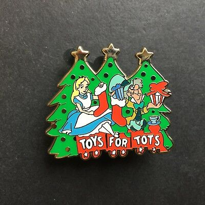 DSF - Alice and the Mad Hatter - Toys for Tots - 2011 LE 250 Disney Pin 87907