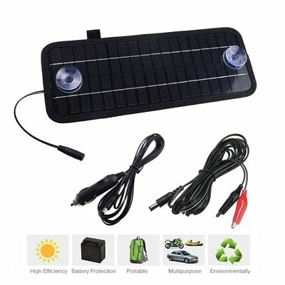 12V 4.5W Solar Panel Power Trickle Battery Charger Power Supply For Car Boat E8