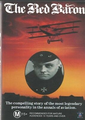The Red Baron - Wwi Doco - New & Sealed Dvd - Free Local Post