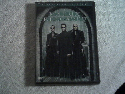 The Matrix Reloaded 2003 ( 2 Disc Set Widescreen ) DVD Keanu Reeves