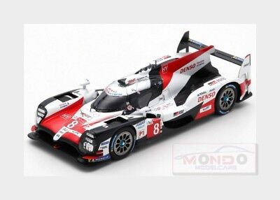 Toyota Ts050 Hybrid 2.4L #8 Winner Le Mans 2018 Alonso Buemi SPARK 1:43 43LM18